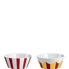 Circus 2-Piece Bowls Small