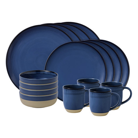 ED Brushed Glaze 16 Piece Set, ${color}