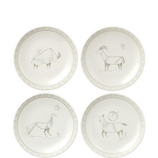 ED Cave Painting Plates 16cm Set of 4
