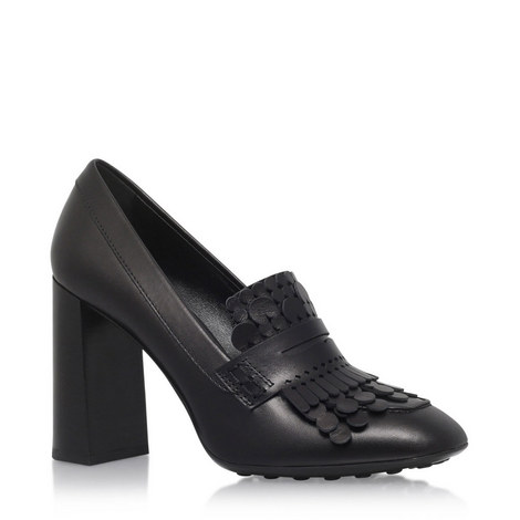 T70 Laser Cut Heeled Loafers, ${color}