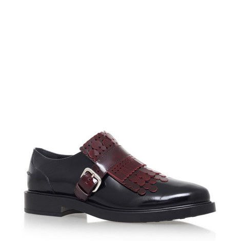 Fringed Leather Brogues, ${color}