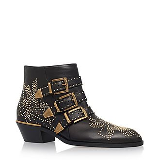 Susanna Studded Ankle Boots
