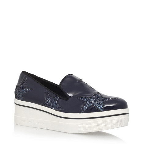 Binx Glitter Star Loafers, ${color}