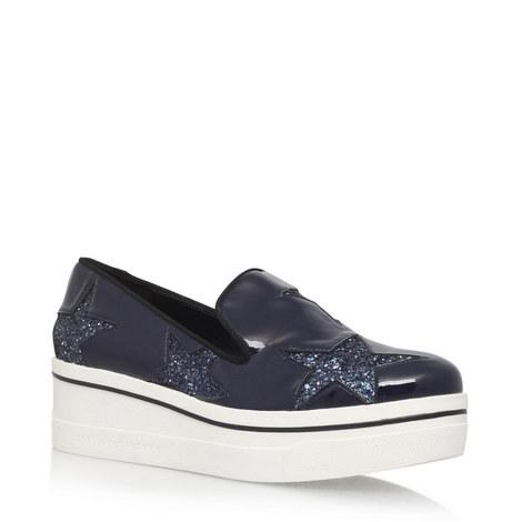 Binx Glitter Star Loafers, ${color}
