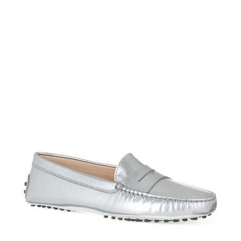 City Gommino Leather Loafers, ${color}