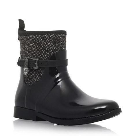 Charm Tweed Rain Boots, ${color}