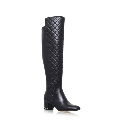 Sabrina Quilted Boots, ${color}