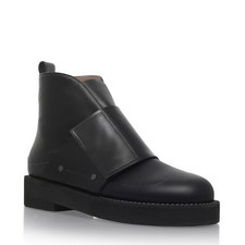 Velcro Strap Ankle Boots
