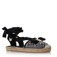 Eileen Lace-Up Espadrilles