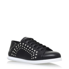 Stud Lace-Up Trainers