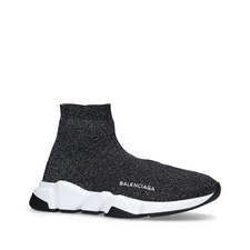 Speed Woven Mid-Top Trainers