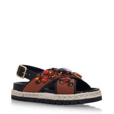 Fussbett Embellished Neoprene Sandals