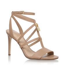 Antoinette Padlock Heeled Sandals