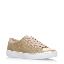 Frankie Cracked Leather Trainers