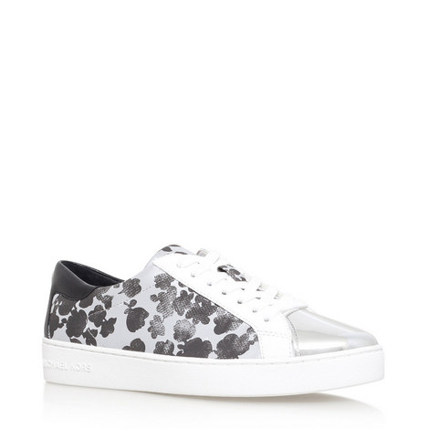 Frankie Abstract Floral Trainers, ${color}