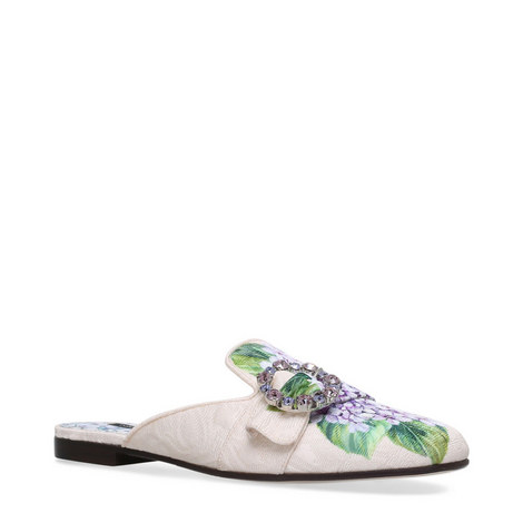 Leonie Crystal Hydrangea Mules, ${color}