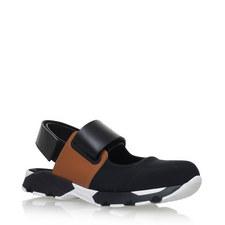 Open Ballet Velcro Sneakers