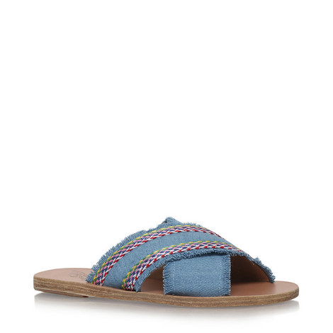 Thais Raffia Sandals, ${color}