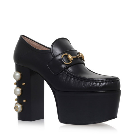 Vegas Pearl Platform Loafers, ${color}