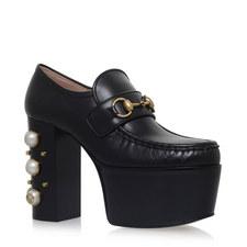 Vegas Pearl Platform Loafers
