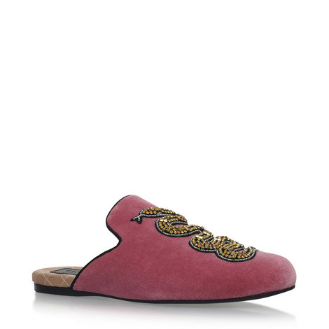 Larence Velvet Slippers, ${color}