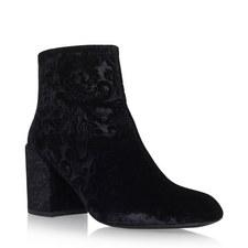 Bacari Devoré Heeled Boots