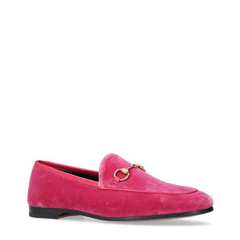 Jordaan Snaffle Velvet Loafers, ${color}