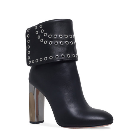 Rivet Cuffed Boots, ${color}