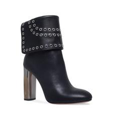 Rivet Cuffed Boots