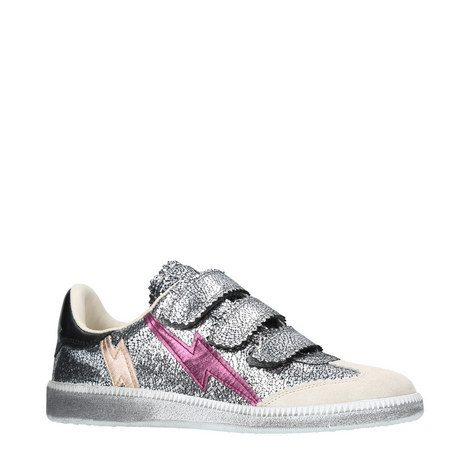 Beth Applique Velcro Trainers, ${color}