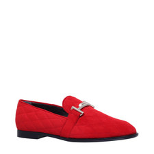 Double-T Suede Moccasins