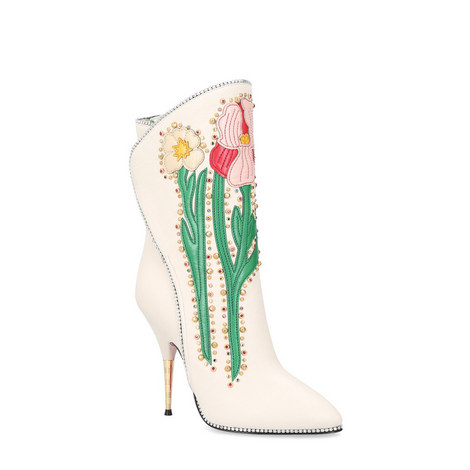 Fosca Appliqued Leather Boots, ${color}