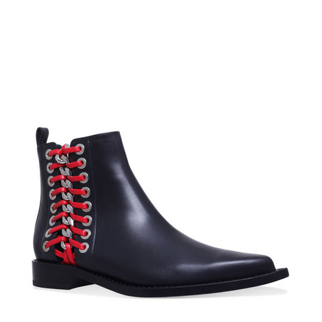 Braided Chelsea Boots, ${color}
