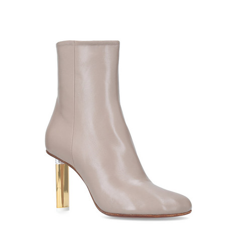 Facet Heeled Ankle Boots, ${color}