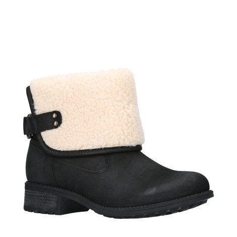 Aldon Shearling Turn-Down Boots, ${color}