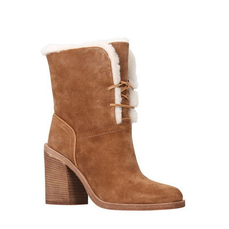 Jerene Turn-Down Shearling Boots, ${color}