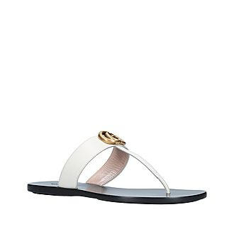 Marmont GG Thong Sandals