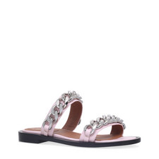 Chain Flat Sandals