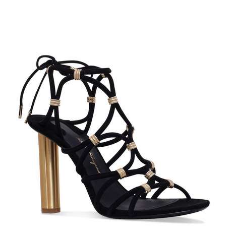 Fiuggi Caged Heeled Sandals, ${color}