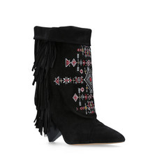 Lesten Fringed Boots