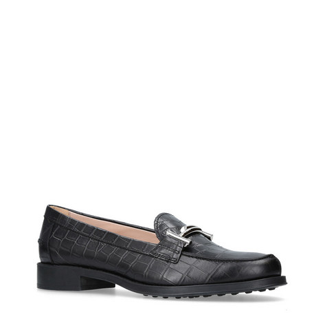 Gomma Ru Frangia Loafers, ${color}