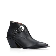 Elegant Cowboy Ankle Boots
