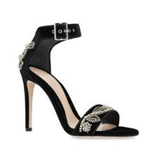 Sweetheart Embellished Sandals