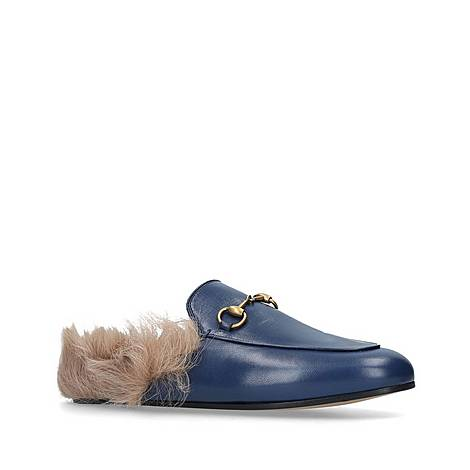 Princetown Shearling Loafers, ${color}