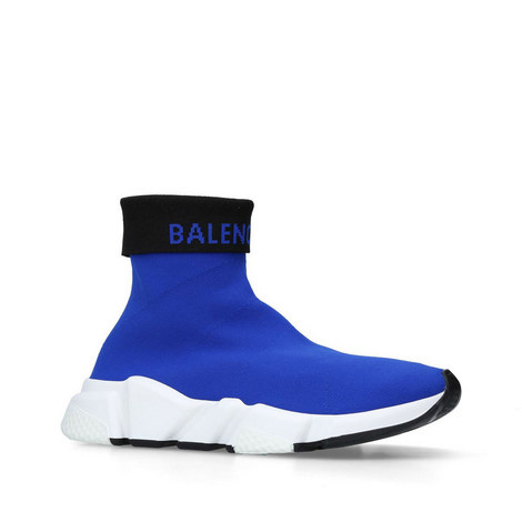Speed Knit High-Top Trainers, ${color}