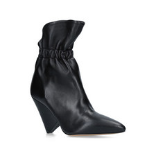Lileas Ruched Ankle Boots
