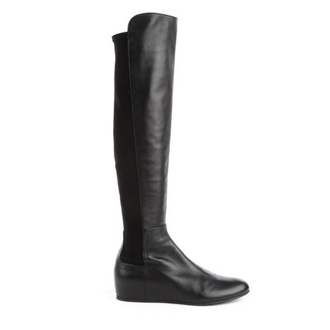 Mainline Leather Knee High Boots, ${color}
