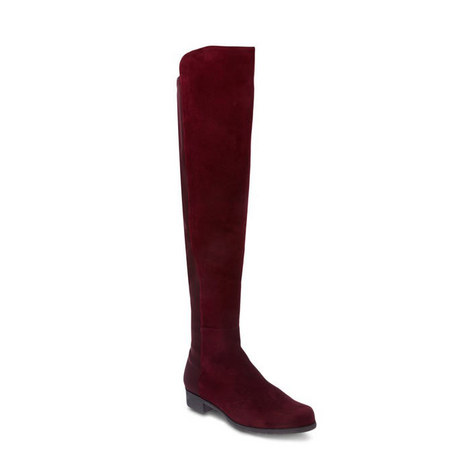 50/50 Suede Leather Boots, ${color}