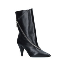 Show Zip Ankle Boots 80