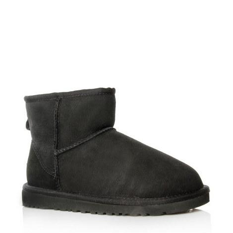 Mini Flat Short Ankle Boots, ${color}